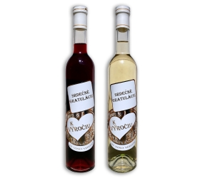 Darčekové víno -  K výročiu