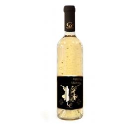 0,75 L Gold Cuvee - Biele so zlatými lupenmi 23 karát Najlepší POĽOVNÍK