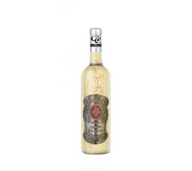 00 Rokov - Darčekové víno so zlatom  0,7  Kovová etiketa