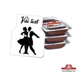 Plesová mini Nutella PMN002