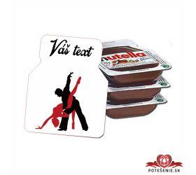 Plesová mini Nutella PMN005