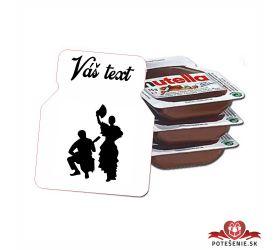 Plesová mini Nutella PMN007
