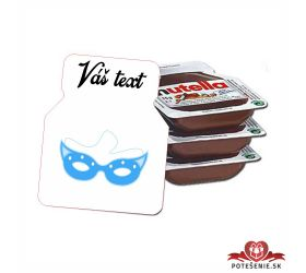 Plesová mini Nutella PMN0013