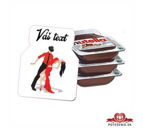Plesová mini Nutella PMN0015