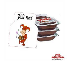Plesová mini Nutella PMN0016