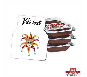 Plesová mini Nutella PMN0017