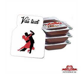 Plesová mini Nutella PMN0020