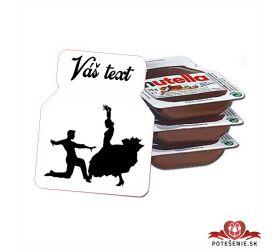 Plesová mini Nutella PMN0021