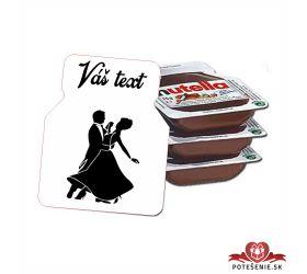 Plesová mini Nutella PMN0023