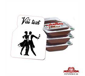 Plesová mini Nutella PMN0024