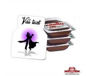 Plesová mini Nutella PMN0025