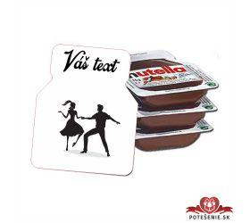 Plesová mini Nutella PMN0027