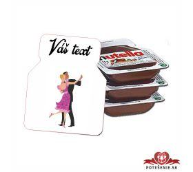 Plesová mini Nutella PMN0028