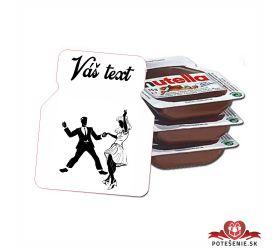 Plesová mini Nutella PMN0029
