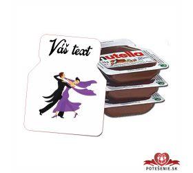 Plesová mini Nutella PMN0030