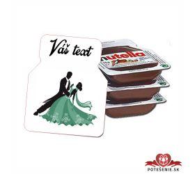 Plesová mini Nutella PMN0031