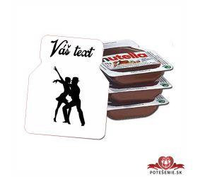 Plesová mini Nutella PMN0032