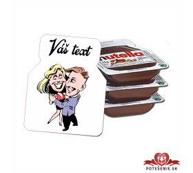 Plesová mini Nutella PMN0034
