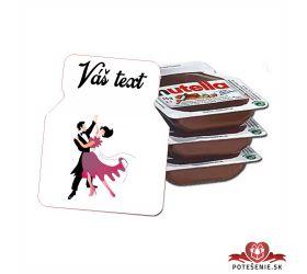 Plesová mini Nutella PMN001