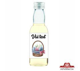 Veľkonočná fľaštička s alkoholom VFA0002