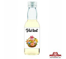 Veľkonočná fľaštička s alkoholom VFA00010
