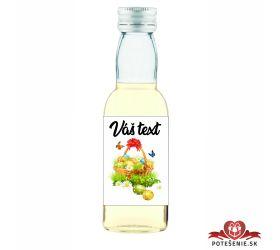 Veľkonočná fľaštička s alkoholom VFA00011