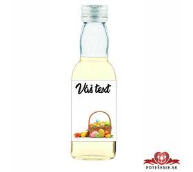 Veľkonočná fľaštička s alkoholom VFA00017