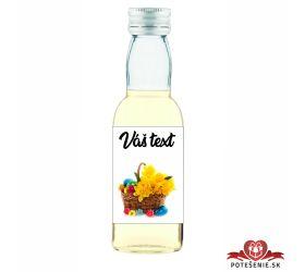 Veľkonočná fľaštička s alkoholom VFA00019
