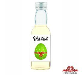Veľkonočná fľaštička s alkoholom VFA00022