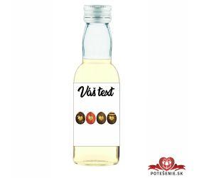 Veľkonočná fľaštička s alkoholom VFA00029