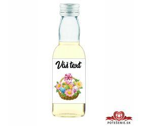 Veľkonočná fľaštička s alkoholom VFA00033