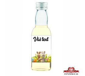 Veľkonočná fľaštička s alkoholom VFA00034