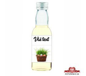 Veľkonočná fľaštička s alkoholom VFA00035