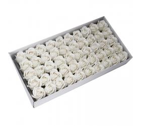 Mydlové Kvety - Stredná Ruža - Biela