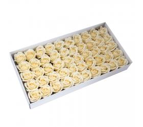 Mydlové Kvety - Stredná Ruža - Krémová
