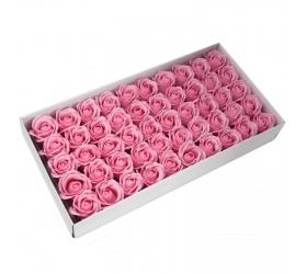 Mydlové Kvety - Stredná Ruža - Ružová