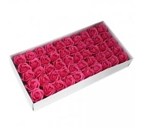 Mydlové Kvety - Stredná Ruža - Tmavá Ružová