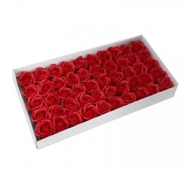 Mydlové Kvety - Stredná Ruža - Červená