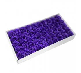 Mydlové Kvety - Stredná Ruža - Fialová