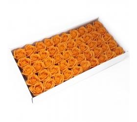 Mydlové Kvety - Stredná Ruža - Oranžová