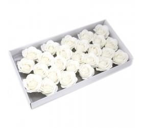 Mydlové Kvety - Veľká Ruža - Biela