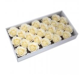 Mydlové Kvety - Veľká Ruža - Krémová
