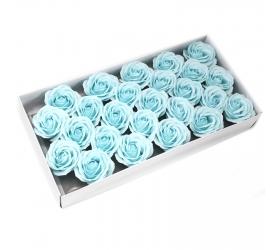 Mydlové Kvety - Veľká Ruža - Pastelová Modrá