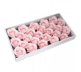Mydlové Kvety pre Šikovné Ruky - Veľká Ruža - Ružová