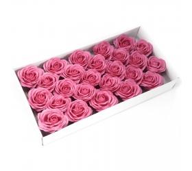 Mydlové Kvety - Veľká Ruža - Tmavá Ružová