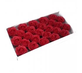 Mydlové Kvety - Veľká Ruža - Červená