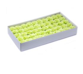 Mydlové Kvety pre Šikovné Ruky - Karafiát - Žltá
