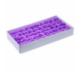 Mydlové kvety - karafiát - fialová