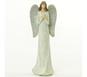 Anjel modliaci sa strieb krídla