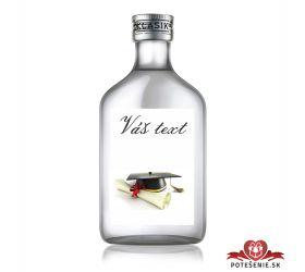 Promočná fľaštička s alkoholom 100 ml PF1